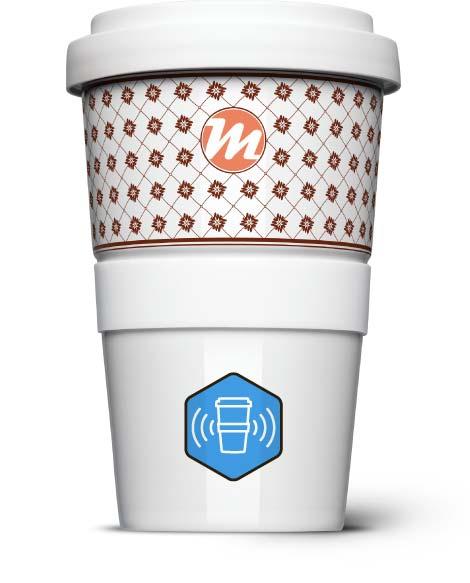 Empfehlungsmarketing mit dem Coffee2Go Becher inklusive RFID Chip
