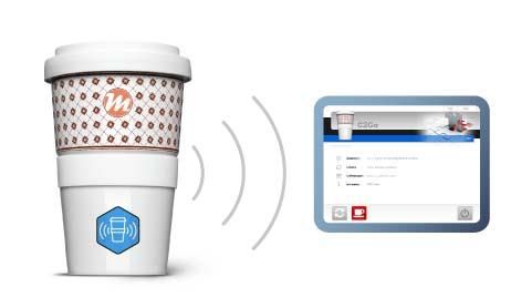Stand-Alone RFID Lösung für den Coffee2Go Becher
