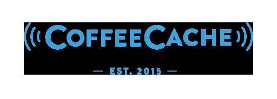 Das CoffeeCache Logo zum Coffee2Go