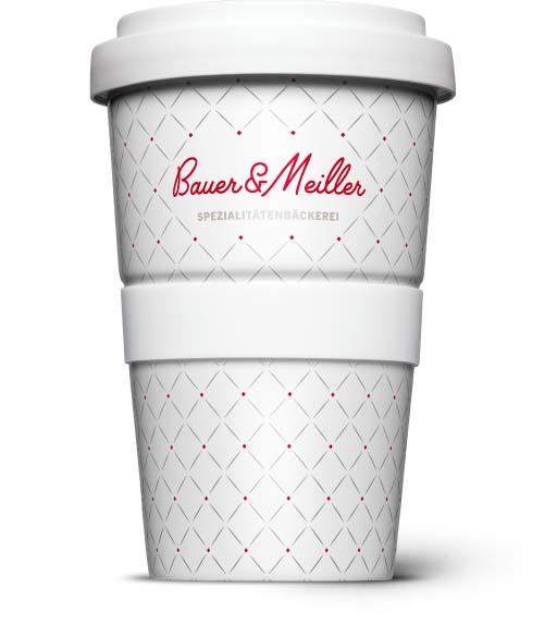 Porzellan Mehrweg, Kaffee-to-Go als Pfandbecher
