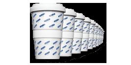 Firmen Becher, jetzt auch der Coffee2Go