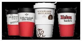 Coffee2Go Mehrweg Becher als Pfandsystem