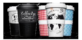 Handelsware: Coffee2Go Becher zum Verkauf