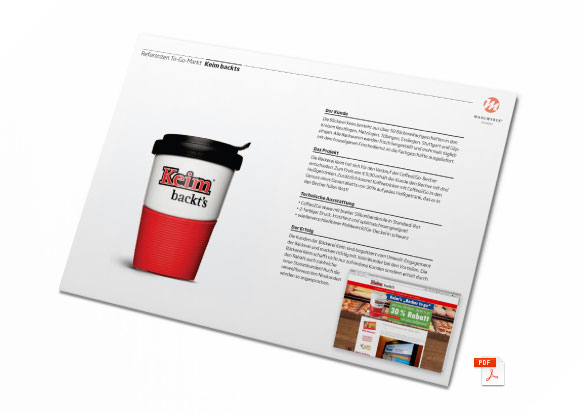 Coffee-to-Go Mehrweg Referenzen als PDF Download