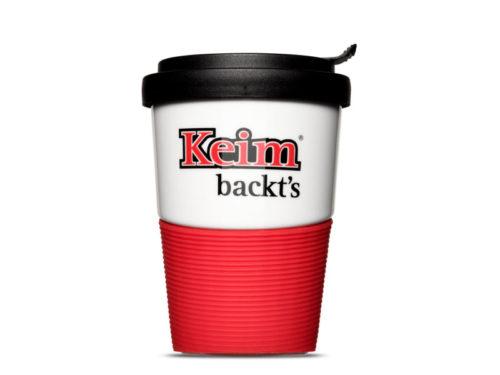 Mehrweg Coffee-to-go Becher Bäckerei Keim