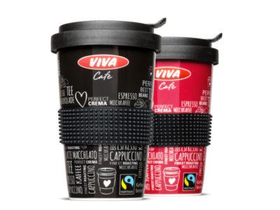 Das Kaffeebecher Mehrwegsystem bei der OMV mit Coffee2Go Bechern aus Porzellan